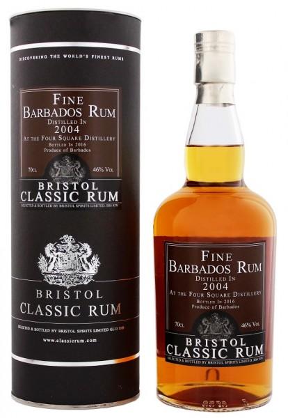 Bristol Classic Barbados 2004/2016 Four Square 0,7 Liter 46%