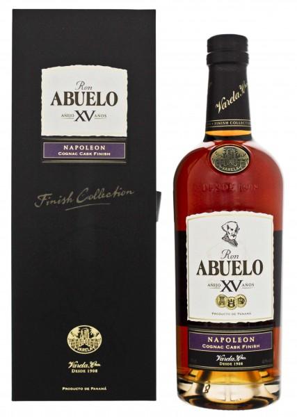 Abuelo 15YO Napoleon Cognac Cask Finish Rum 0,7 L