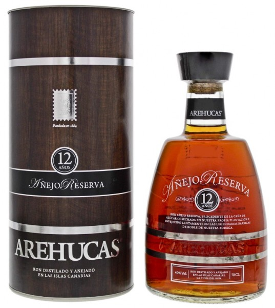Arehucas 12YO Anejo Reserva Rum 0,7 Liter 40%