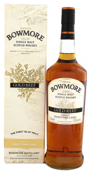 Bowmore Gold Reef Single Malt Scotch Whisky 1 Liter 43%