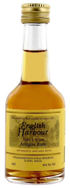 English Harbour 5YO Rum 0,05 Liter 40%