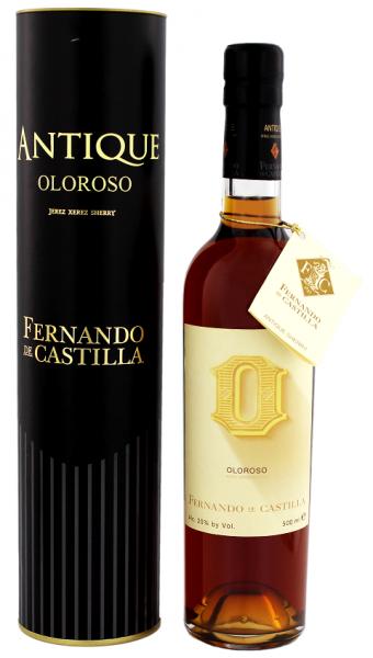 Fernando de Castilla Sherry Antique Oloroso 0,5 Liter