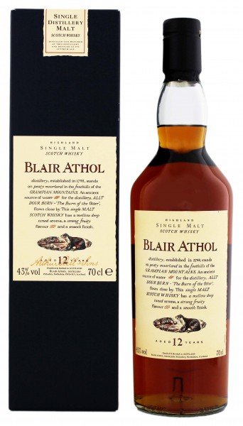 Blair Athol 12YO Single Malt Whisky 0,7 Liter 43%