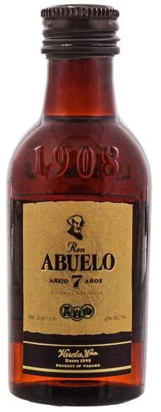 Abuelo 7YO Rum 0,05 Liter 40%