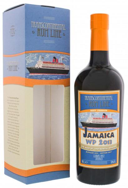 Transcontinental Rum Line Jamaica WP 2013/2017 0,7 Liter 57%