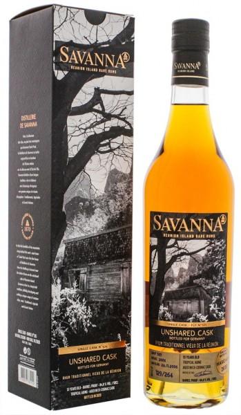Savanna 13YO Traditionnel Unshared Cask Single Cask No. 525 Rhum 0,5 Liter 64,8%
