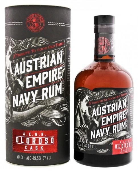 Austrian Empire Navy Oloroso Double Cask Rum 0,7 Liter 49,5%