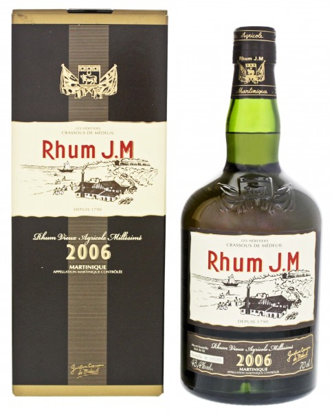 JM Rhum 2006/2018 Vieux Agricole 0,7 L