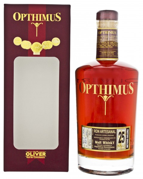 Opthimus 25YO Malt Whisky Barrel Finish 0,7 Liter