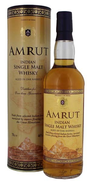 Amrut Single Malt - Indien 0,7L