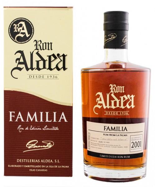 Ron Aldea Familia 15YO 0,7 Liter 40%