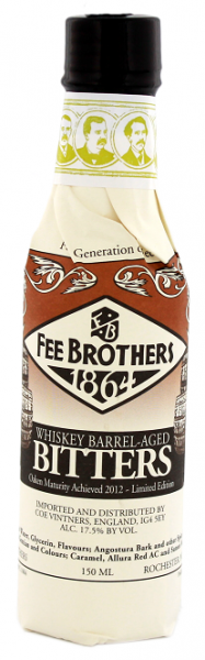 Fee Brothers Whiskey Barrel-Aged Bitters 0,15 Liter 17,5%