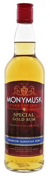 Monymusk Plantation Special Gold Rum 0,7 Liter 40%