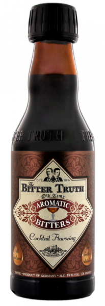 The Bitter Truth Old Time Aromatic Bitters 0,2 Liter 39%