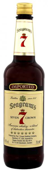 Seagram's Seven Crown 0,7 Liter 40%