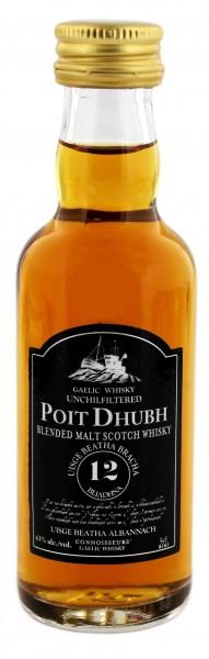 Poit Dhubh 12YO - Miniatur 0,05L