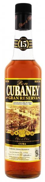 Cubaney 15YO Gran Reserva Rum 0,7 Liter 38%