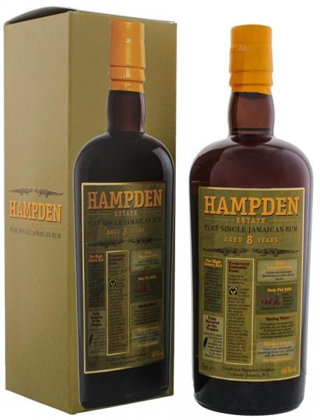 Hampden Estate 8YO Pure Single Jamaican Rum 0,7 Liter 46%