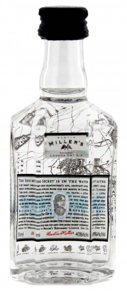 Martin Miller's London Dry Gin England / Island 0,05L