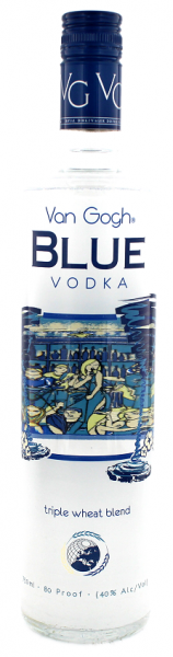 Van Gogh Vodka Blue 0,75 Liter 40%