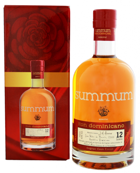 Summum 12YO Cognac Finish Ron 0,7 Liter 43%