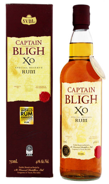 Captain Bligh XO Rum 0,7 Liter 40%