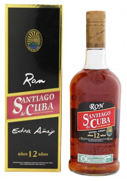 Santiago de Cuba 12YO  Extra Anejo 0,7 Liter
