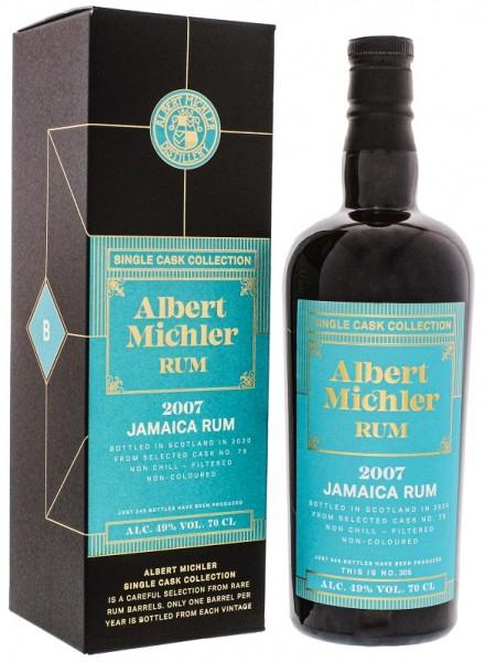 Albert Michler Jamaica 2007/2020 Single Cask Collection Rum 0,7 Liter 49%
