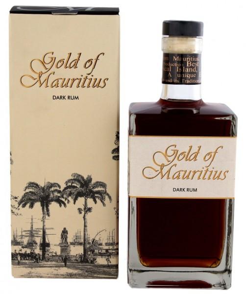 Gold of Mauritius Dark Rum 0,7 Liter
