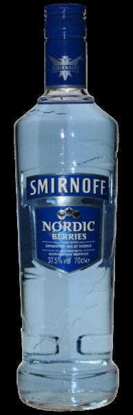 Smirnoff Nordic Berries 0,7 Liter 37,5%