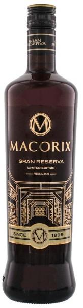 Macorix Gran Reserva Limited Edition Premium Rum 0,7 Liter 45%