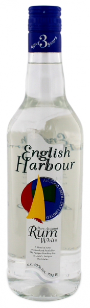 English Harbour White Rum 0,7 Liter 40%