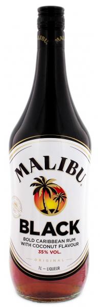 Malibu Black Rum 1 Liter