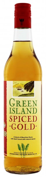 Green Island Spiced Gold 0,7 Liter
