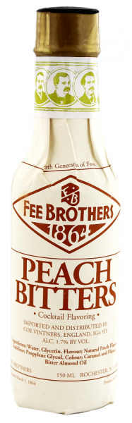 Fee Brothers Peach Bitters 0,15 Liter 1,7%