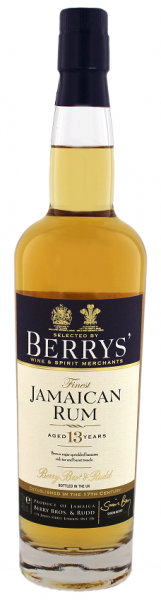 Berry´s Own Finest Jamaican Rum 0,7 Liter