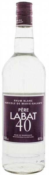 Pere Labat Blanc Agricole Rhum 0,7 Liter 40%