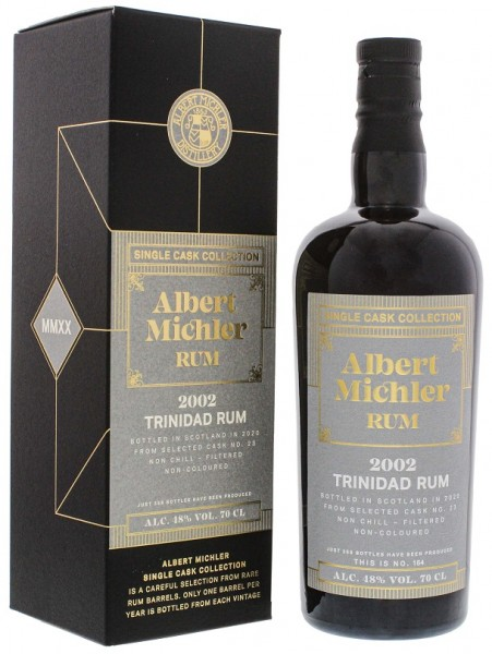 Albert Michler Trinidad 2002/2020 Single Cask Collection Rum 0,7 Liter 48%