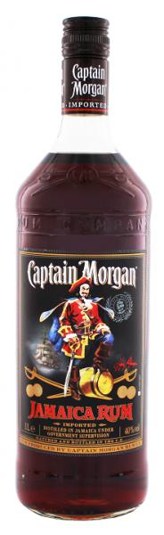 Captain Morgan Rum Black Label 1 Liter 40%