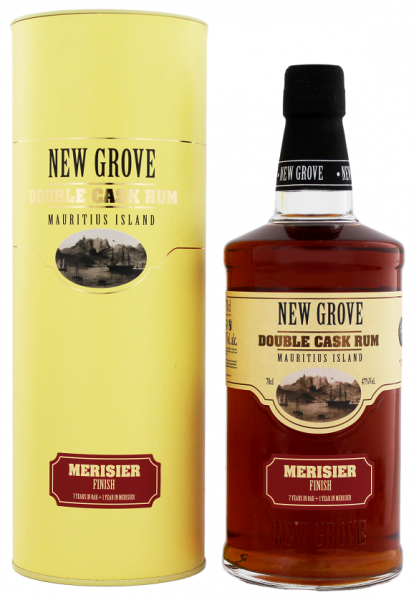 New Grove Double Cask Merisier Finish Rum 0,7 Liter 47%