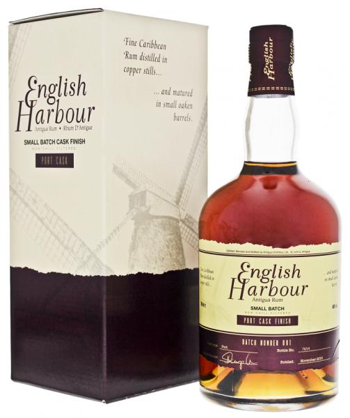 English Harbour Port Cask Finish Rum 0,7 Liter 46%