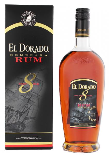 El Dorado 8YO Rum 0,7 Liter 40%