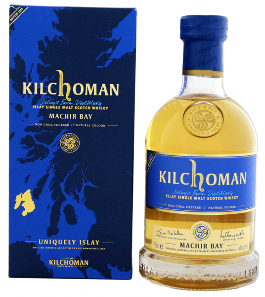 Kilchoman Single Malt Whisky Machir Bay 2014 0,7 Liter 46%