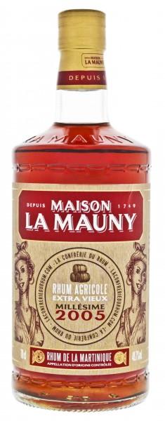La Mauny Extra Vieux Millesime 2005 Rhum 0,7 L