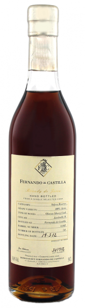 Fernando de Castilla Brandy Solera Reserva Oloroso 0,5 Liter 36,9%
