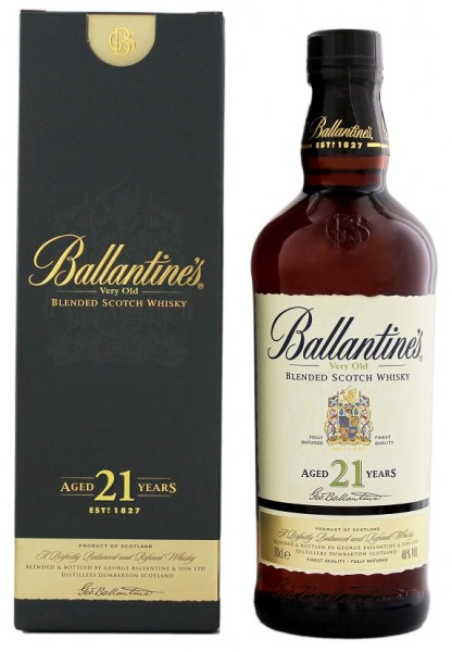 Ballantines 21YO Blended Whisky 0,7 Liter 40%