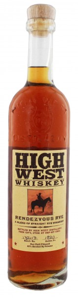High West Rendezvous Rye Whiskey 0,7L