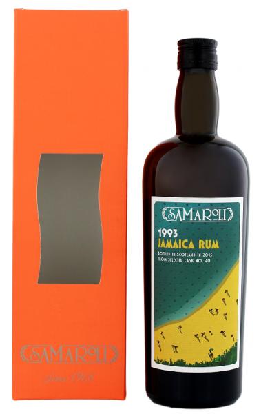Samaroli Jamaica Rum 1993/2015 Cask N° 40 0,7 Liter