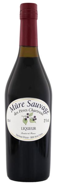 Chartreuse Mûre Sauvage des Peres 0,5 Liter