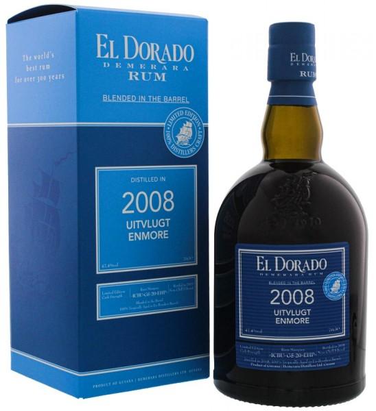 El Dorado Blended in the Barrel 2008/2019 Uitvlugt Enmore Rum 0,7 Liter 47,4%
